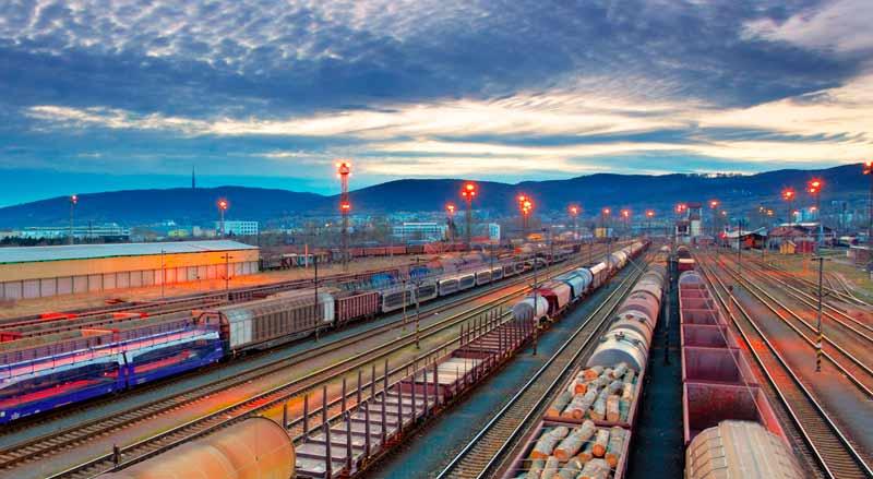 Перевозка негабаритных грузов {amp}#xD;{amp}#xA;железнодорожным составом